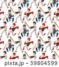 スポーツ 選手 ベースボールのイラスト 39804599
