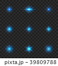 明るい 明かり 輝くのイラスト 39809788