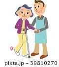杖 おばちゃん 介助 39810270