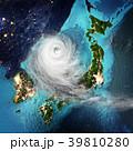 サイクロン 低気圧 天気のイラスト 39810280