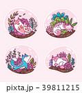 ねこ ネコ 猫のイラスト 39811215