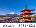 富士山 新倉山浅間公園 桜の写真 39814828