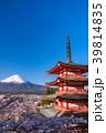 富士山 新倉山浅間公園 桜の写真 39814835