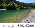 仁淀川 清流 新緑の写真 39815209