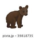 動物 森林 林のイラスト 39818735