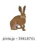 動物 ウサギ 兎のイラスト 39818741
