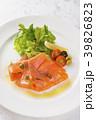 カルパッチョ 鮭 料理の写真 39826823