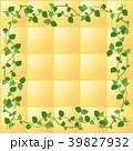 葉っぱの囲みフレーム・南欧風 39827932