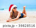 ビーチ 浜辺 女の写真 39828516