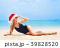 ビーチ 浜辺 女の写真 39828520