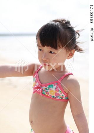 海 (ビーチ 子供 女児 夏休み リゾート バカンス 家族旅行 南国 コピー ...