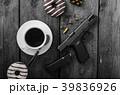 コーヒー ドーナツ 食の写真 39836926