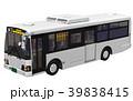 路線バス バス 乗り物のイラスト 39838415