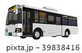路線バス バス 乗り物のイラスト 39838416
