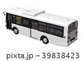 路線バス バス 乗り物のイラスト 39838423