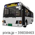 路線バス バス 乗り物のイラスト 39838463