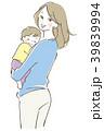 子供と母親 39839994