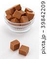 キャラメル ミルクキャラメル お菓子の写真 39842209
