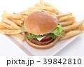ハンバーガー 39842810