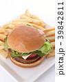 ハンバーガー 39842811