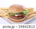 ハンバーガー 39842812