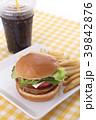 ハンバーガー 39842876
