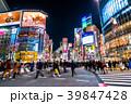 渋谷 スクランブル交差点 渋谷駅前の写真 39847428