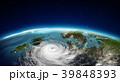 サイクロン 低気圧 立体のイラスト 39848393