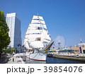 日本丸 帆船 総帆展帆の写真 39854076