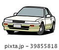 自動車 車 クーペのイラスト 39855818