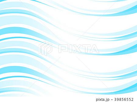 曲線 抽象的 イラスト グラデーションのイラスト素材 39856552 Pixta