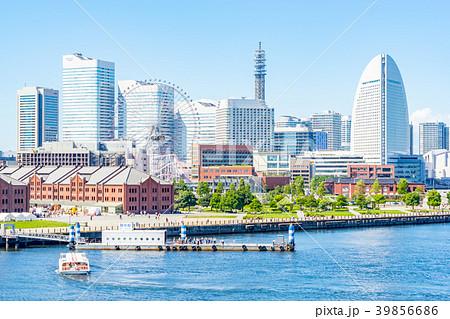 【神奈川県】横浜の街並み 39856686