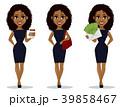 女の人 女性 ビジネスウーマンのイラスト 39858467