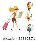 人々 人物 マップのイラスト 39862371