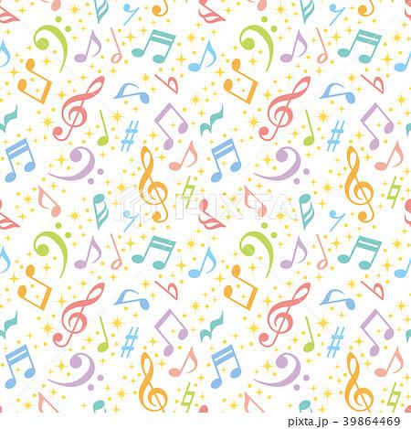 音楽 広告 背景 39864469
