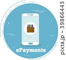 支払い 支払 スマートフォンのイラスト 39866443