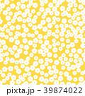 花柄 花 背景のイラスト 39874022