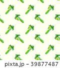 セロリ シームレス パターンのイラスト 39877487