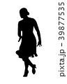 ダンス 舞う 舞踊のイラスト 39877535