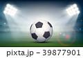 ボール 球 サッカーのイラスト 39877901