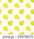 レモン 檸檬 シームレスのイラスト 39878670