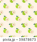 緑色 りんご アップルのイラスト 39878673