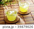 お茶 煎茶 冷茶の写真 39879026