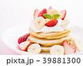 パンケーキ ホットケーキ デザートの写真 39881300