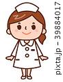 ナース 看護婦 女性のイラスト 39884017