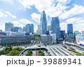 東京 新宿駅西口風景 39889341