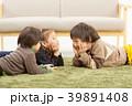 家族 子供 兄弟の写真 39891408