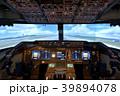 フライトシミュレーター Boeing747-400 コックピット 操縦席 スピードイメージ 39894078