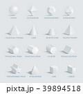 スフィア 球 球体のイラスト 39894518