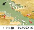 和テイスト(雲、青海波、桜、抹茶、金魚) 39895210